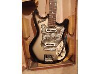 1960s MIJ (Made in Japan) RARE Teisco Columbus Electric Guitar (Small scale) Excellent condition