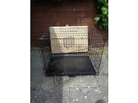 Large dog cage, still for sale in Argos rrp £54.99