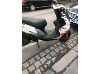 Longjia 50cc scooter with full mot