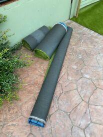 Artificial grass offcuts - brand new worth £35 per square metre