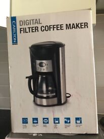 Carlton Digital Filter Coffee Maker - 10 cups/1.25 litres