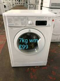 Indesit 7kg washing machine free delivery in Coventry