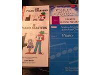 Piano beginners books