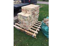 "180 Reclaimed 'Arlesey White' or ""Cambridge Multi' Bricks."