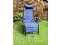 Gravity Free Reclining Chair