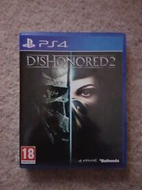 Dishonoured 2 on PS4