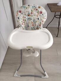 Baby high chair from Mother care