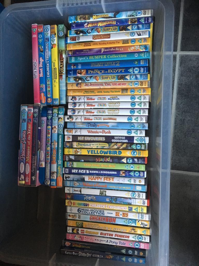 48 Children S Dvds Bundle In Newton Abbot Devon Gumtree