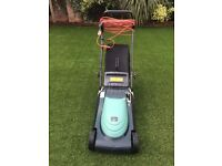 Hayter 615 Spirit 41 rear roller electric lawn mower.
