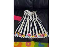 Baby girl dress with top 6-9 months