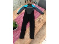 O'Neil kids wet suit age 7-8