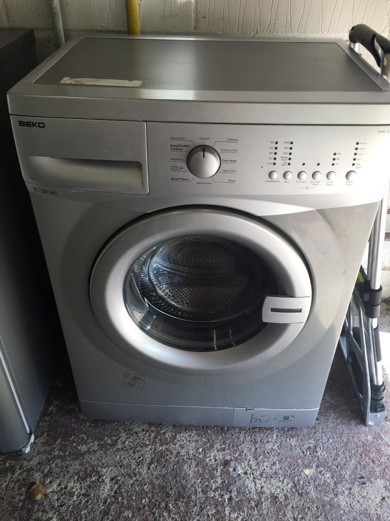 Silver 5kg Beko Washing Machine Fully Working Order Just £75 Sittingbourne