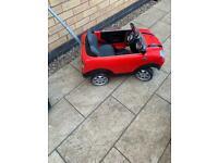 Mini Cooper kids car
