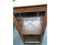 Glass Fronted HiFi Cabinet