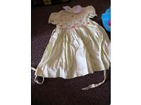 Smocked dress aged 2