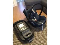 Maxi-cosi cabriofix 0-12 months with isofix base