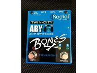 Radial Engineering Bones Twin City Buffered ABY Pedal