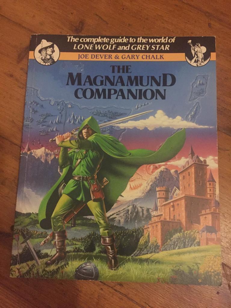 *RARE MINT* The Magnamund Companion