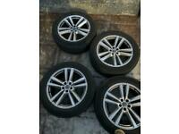 Audi 20 inch wheels and tyres Q7 Q5