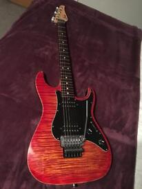 Suhr pro S5 electric guitar (like fender, Gibson)