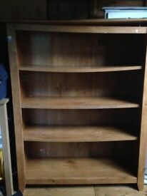 very sturdy book shelf