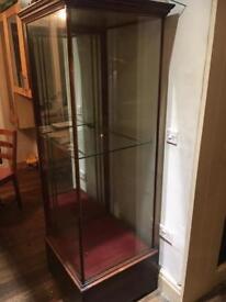 Antique Georgian display cabinet