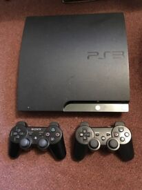 Playstation 3 (PS3) 250GB with 2 controllers, 11 games