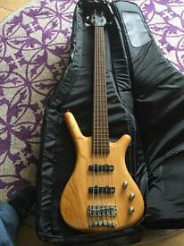 Warwick Corvette 5-string bass