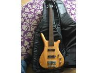 Warwick Corvette 5-string bass