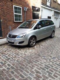 Vauxhall Zafira Exclusive.