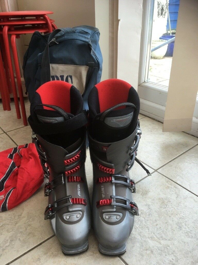 Skis and boots