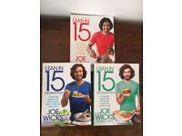 Joe Wicks Lean in 15 Cook Books x 3