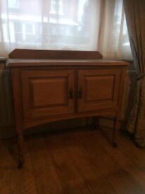 Antique washstand/cupboard