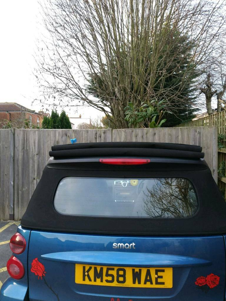 2008 passion cabriolet convertible smart car