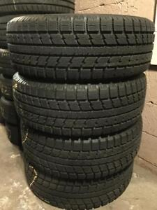 255 60R 18 TOYO OBSERVE GSI-5 WINTER SNOW TIRES GREAT SHAPE