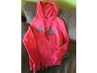 Size 12 ladies Gio Goi pink hoodie