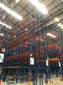 job lot redirack pallet racking AS NEW ( storage , shelving )