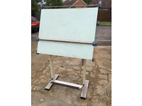 Vintage Professional Neolt Arnalt Drafting Table Made in Italy