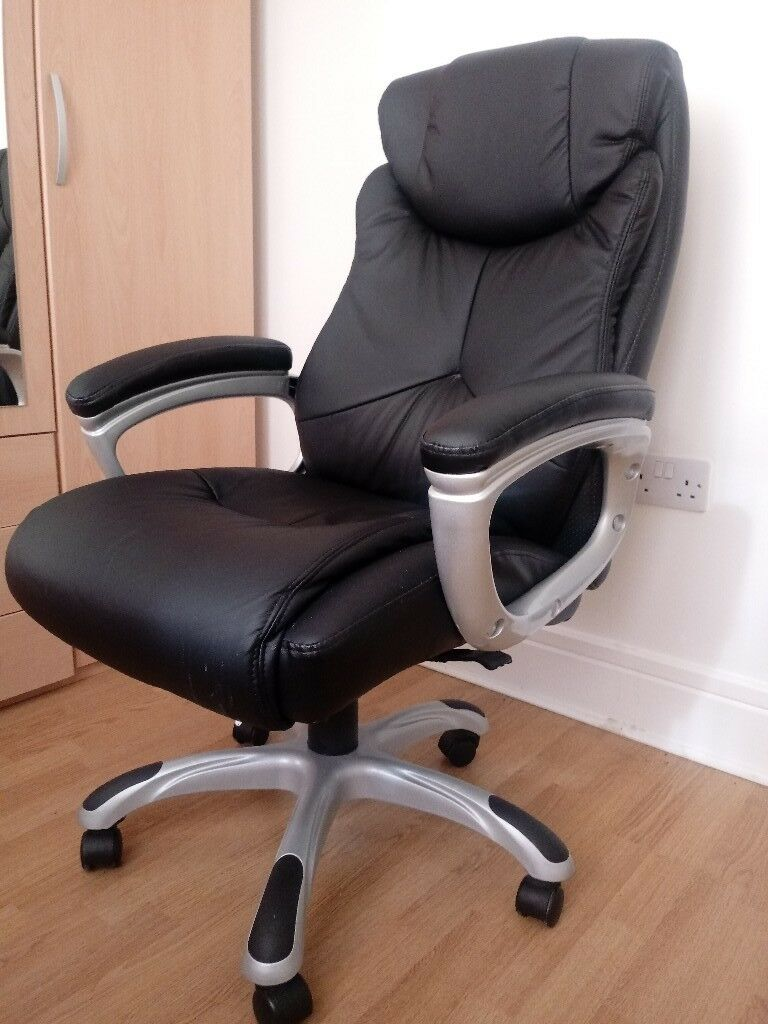 X Rocker Executive Height Adjule Office Home Chair Black