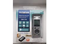 Olympus DM-770 voice recorder