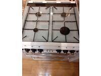 New World 600TSIDLM Gas Cooker - White