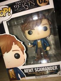 Newt Scamander / Fantastic Beasts and Where to Find Them - Funko Pop