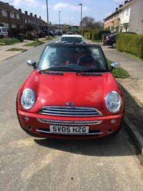 Mini One | Red | Convertible | Petrol