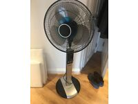 Stand up remote control fan