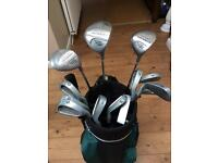Peter Alliss Men's Golfing Set Carbon Fibre