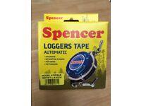 Spencer loggers tape + Refill 25m/75ft