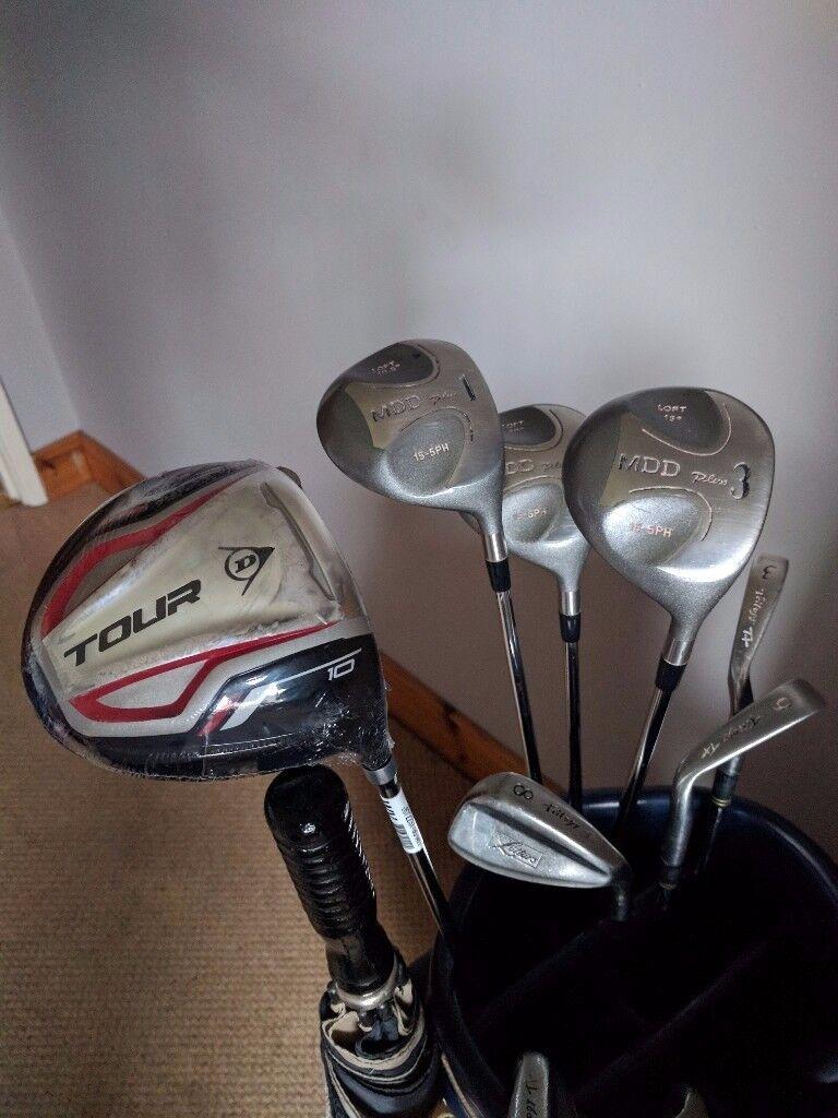 MacGregor Golf bag and Trilogy clubs
