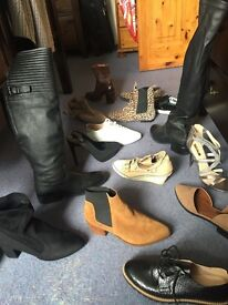 Shoes boots and clothes
