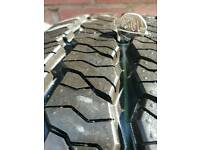 4x 195/65/r16 tyres new good tread