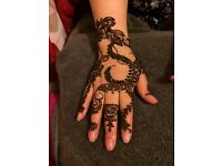 Arabic henna in Leeds